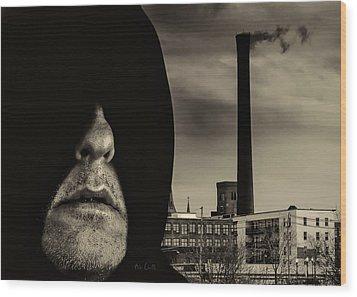 Working Class Man Wood Print by Bob Orsillo