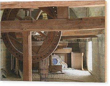 Workshop In Besancon Wood Print by A Morddel