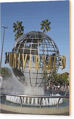 World Of Universal Wood Print