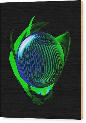 World Peace Wood Print by Gerlinde Keating - Galleria GK Keating Associates Inc