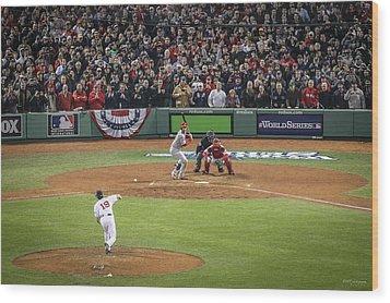 World Series Game Six 2 Wood Print