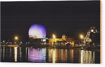 World Showcase 2 Wood Print