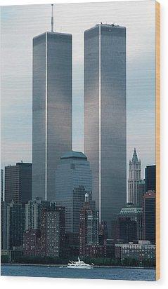 World Trade Center Wood Print by KG Thienemann