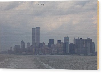 World Trade Center May 2001 Wood Print by Kenneth Cole