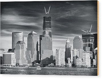 World Trade Center Rebirth Wood Print by John Rizzuto
