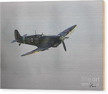 World War 2 Spitfire Wood Print