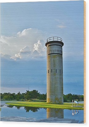 World War II Lookout Tower - Tower Road - Delaware State Park Wood Print