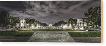 World War II Memorial Wood Print