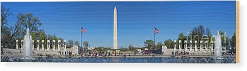 World War II Memorial Wood Print by Olivier Le Queinec