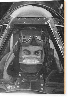 World War II: P-57 Mustang Wood Print by Granger
