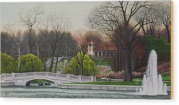 World's Fair Pavilion Wood Print