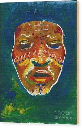 Worldwide Tribal Collection 1 Wood Print