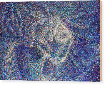 Wormhole Wood Print by Josh Long