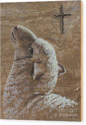 Worthy Is The Lamb Wood Print