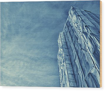 Wrapped Cathedral Wood Print by John Hansen