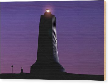 Wood Print featuring the photograph Wright Brothers Memorial by Greg Reed