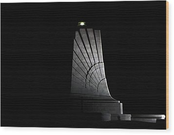 Wood Print featuring the photograph Wright Brothers Memorial II by Greg Reed