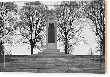 Wright Brothers Memorial Wood Print