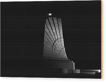 Wood Print featuring the photograph Wright Brothers National Memorial by Greg Reed