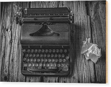 Write Me Wood Print by Garry Gay