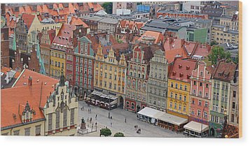 Wroclaw Wood Print by Kees Colijn