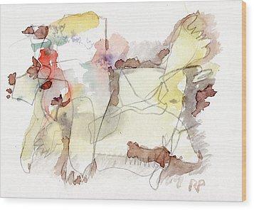 W.t. Wood Print by Reiner Poser