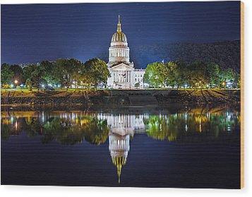 Wv Capitol Wood Print