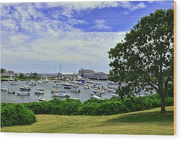 Wychmere Harbor Wood Print