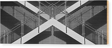 X Factor Wood Print by Don Durante Jr