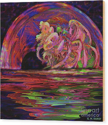Xanadu Portal Wood Print by Michael Durst