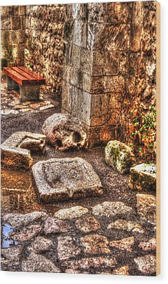 Wood Print featuring the photograph Stones That Don't Lie - Israel by Doc Braham