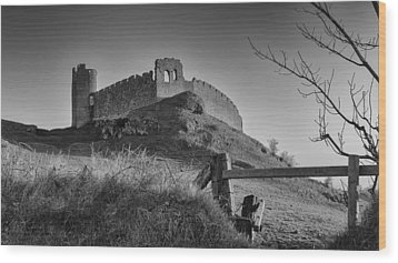 Roche Castle Wood Print by Pro Shutterblade