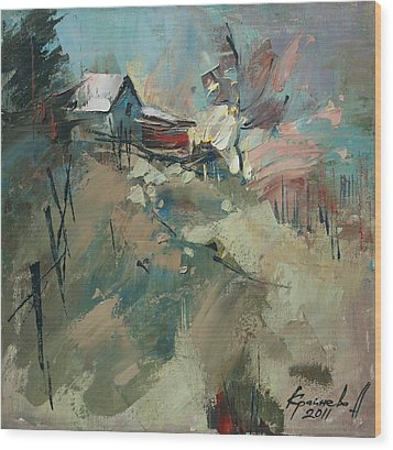 Yablunitsa Wood Print