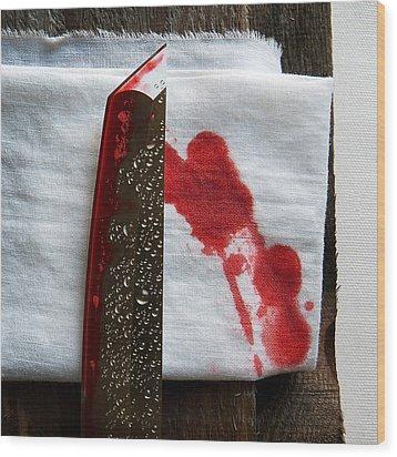Yakuza Wood Print