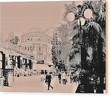 Yalta Streets  Wood Print by Rick Todaro