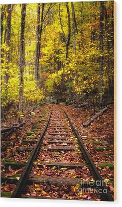 Yankee Horse Ridge  Wood Print