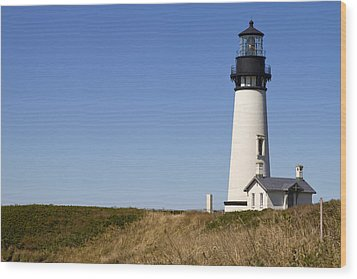 Yaquina Head Lighthouse 3 Wood Print by David Gn
