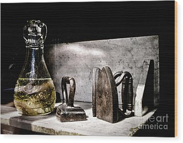 Years Ago Wood Print by Olivier Le Queinec