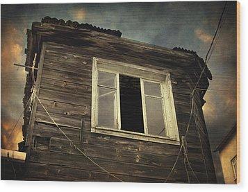 Years Of Decay Wood Print by Taylan Apukovska