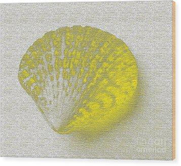 Yellow Wood Print by Carol Lynch