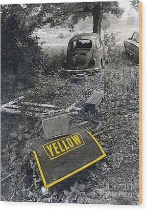 Yellow Wood Print by   Joe Beasley