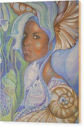 Yemoja Wood Print