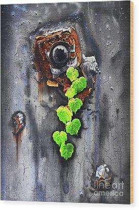 Yesterday - Now Wood Print by Jurek Zamoyski