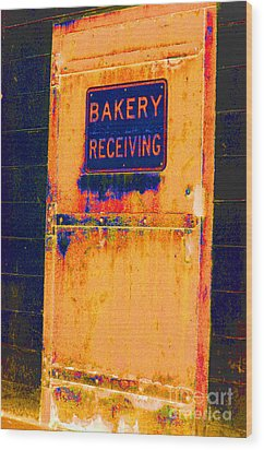 Wood Print featuring the photograph Yesterday's Bread by Christiane Hellner-OBrien