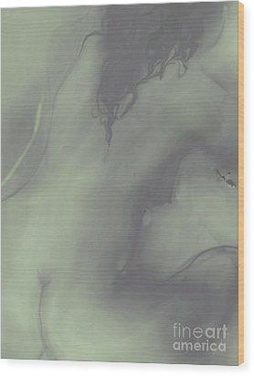 Wood Print featuring the digital art Yoga by Gabrielle Schertz