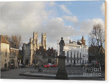 York Gallery Square Wood Print by Neil Finnemore