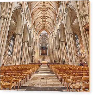 York Minster I Wood Print by Jack Torcello