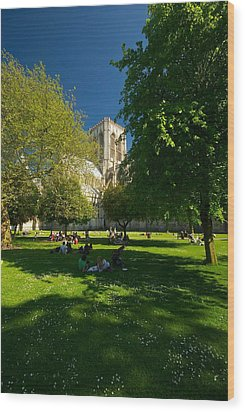 Wood Print featuring the photograph York Minster by Stephen Taylor