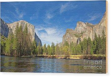 Yosemite Wood Print by Jane Rix