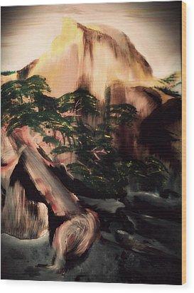 Yosemite Wood Print by Magdalena Silbertson